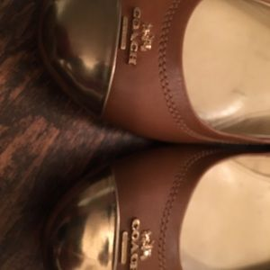 Coach Shoes - Coach flats!